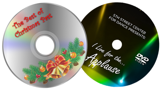 Christmas Past and Live for the Applause Combo