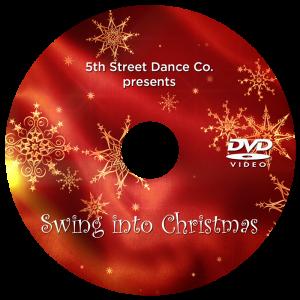 Swing Into Christmas DVD