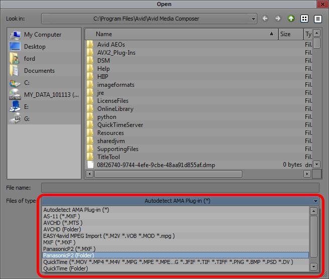 P2 AMA for Media Composer 7