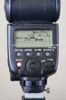 Stroboscopic settings on the Canon 580 EXII