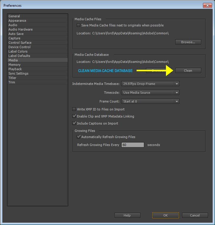 Tip of the Week – September 19, 2014: Clean Your Adobe Media Cache!