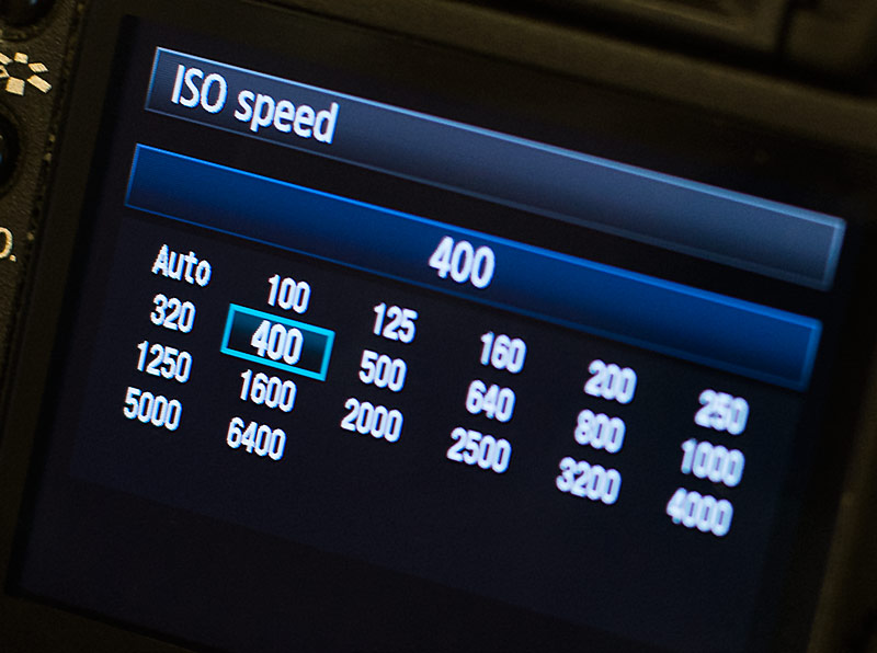 Tip of the Week – November 10, 2014: When to Adjust ISO