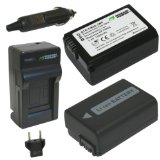 Wasabi Power Battery (2-Pack) and Charger