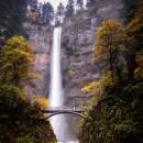 Shooting Photos of Multnomah Falls in Oregon