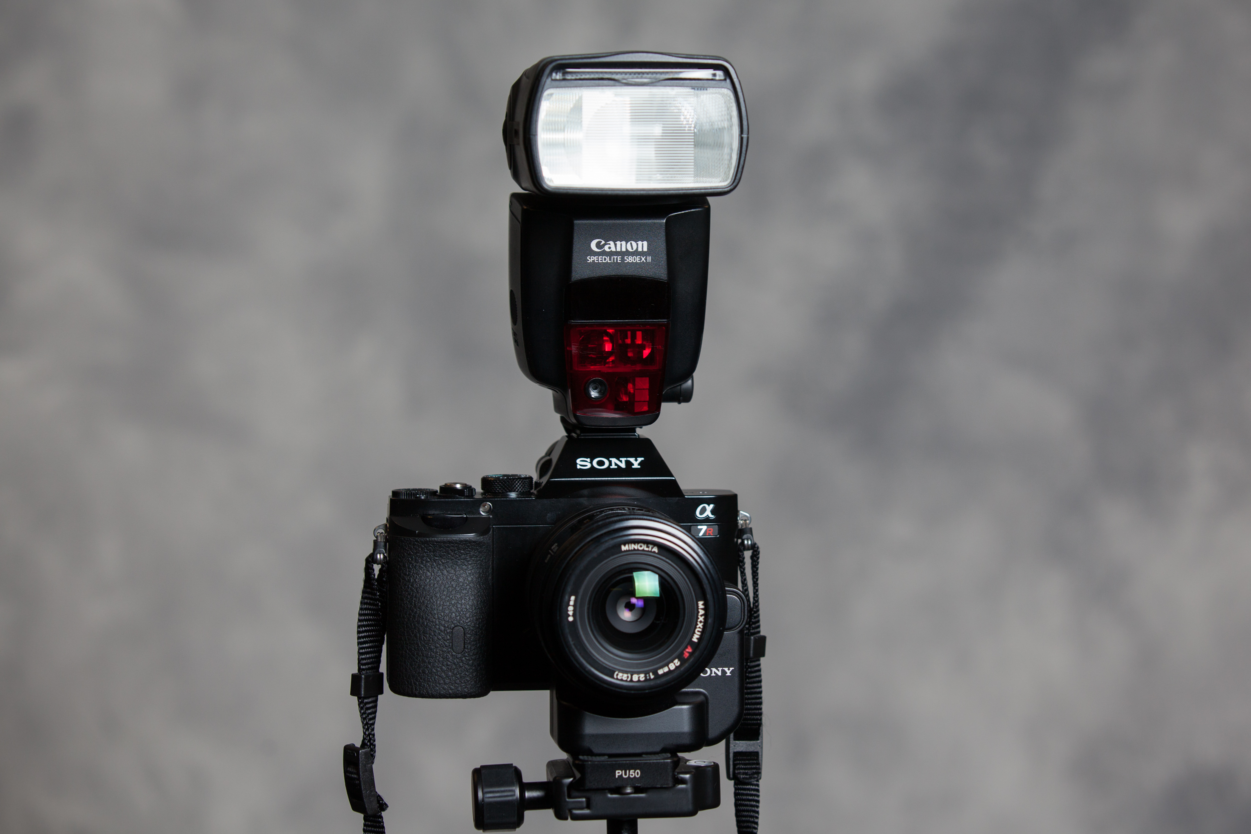 Using a Canon Speedlite Flash with a Sony A7