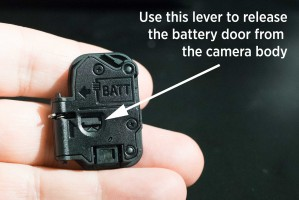 Sony A7 Battery Door Removal