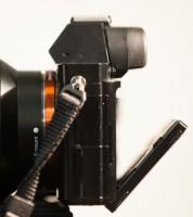 Sony A7R rear screen articulation