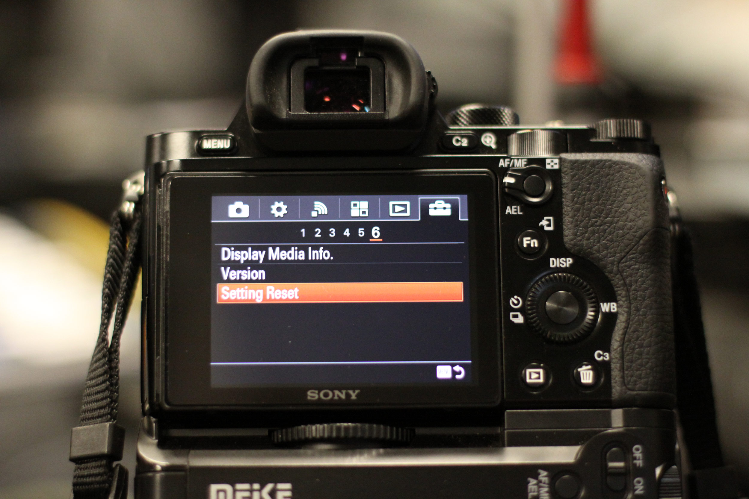 Sony A7 Settings are Stuck? Here's a Possible Fix