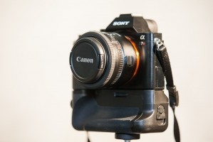 Canon 40mm on Sony A7R