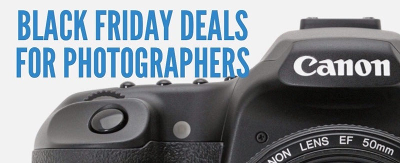 2017 Black Friday Deals for Photographers