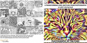 """A Transforming Lens: Sketches from Photographs"" Front and Back Cover"