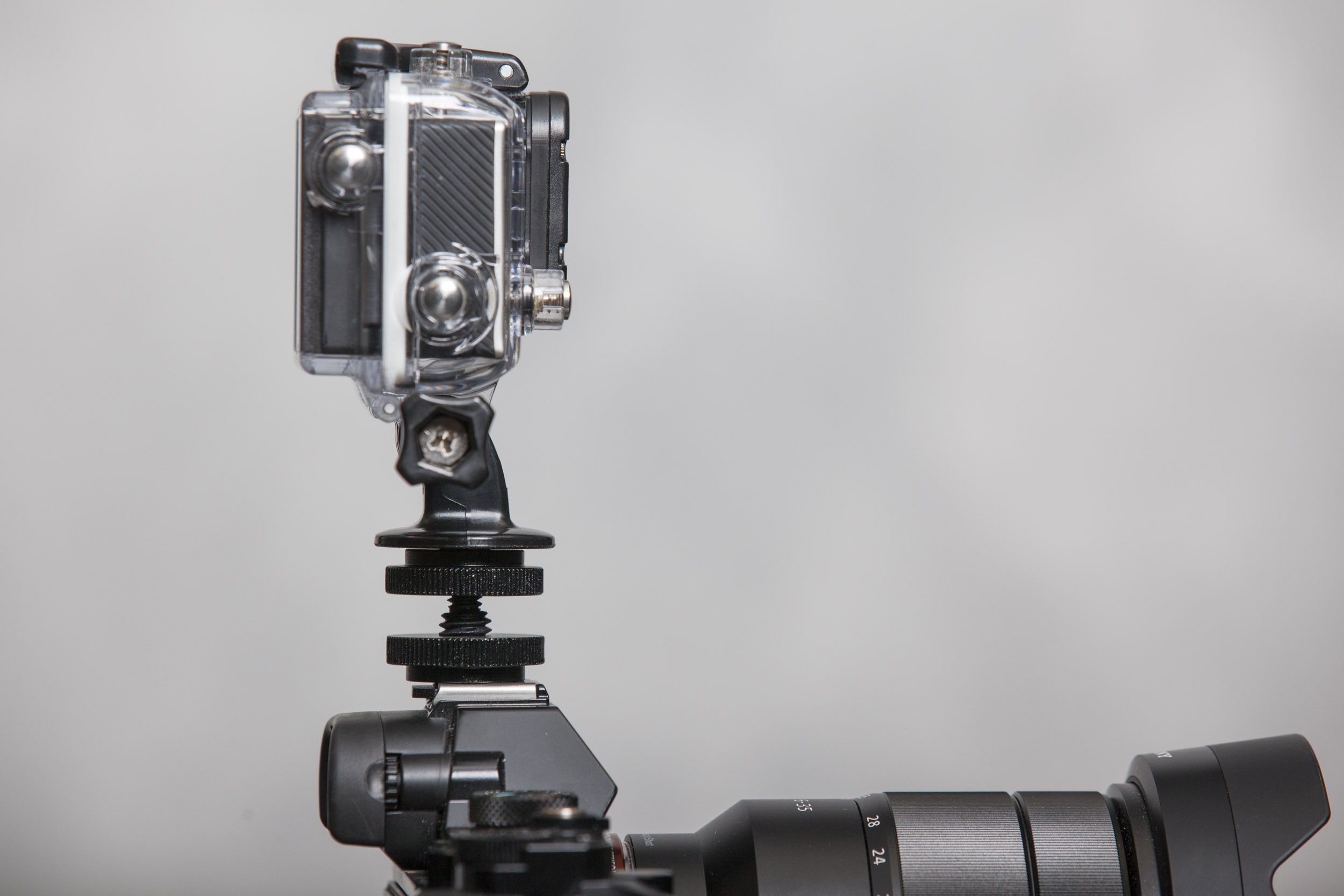 How to Mount a GoPro to a Hot Shoe