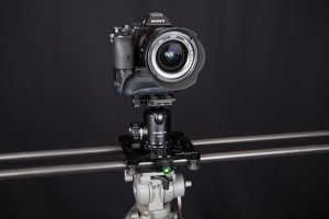 Imorden Carbon Fiber Slider with ball head and camera
