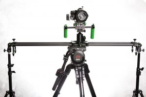 Imorden Carbon Fiber Slider with Imorden IR-02 Shoulder Mount Rig attached