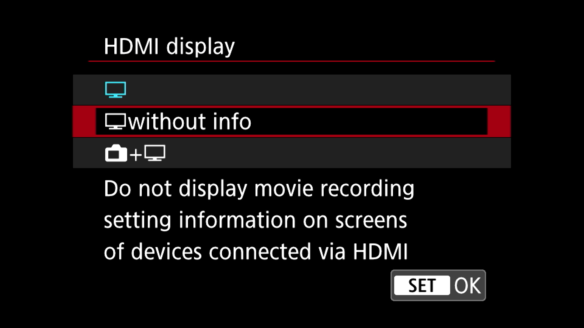 Using an External HDMI Recorder with a Canon 5D Mark IV