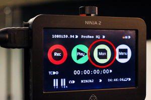 Ninja 2 monitor button