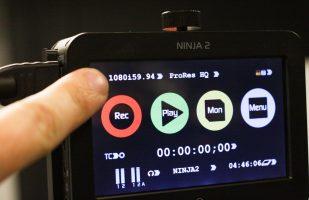 Select 1080i 59.94 on the Ninja