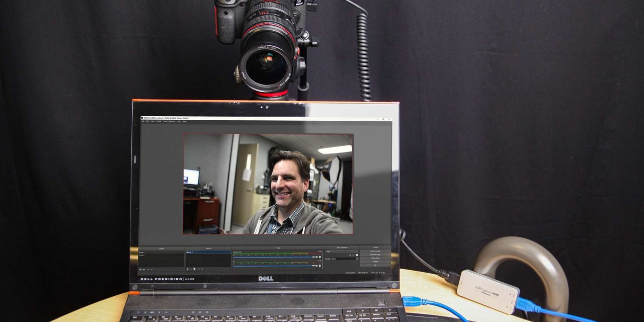 Using a Canon 5D Mark IV as a USB Webcam