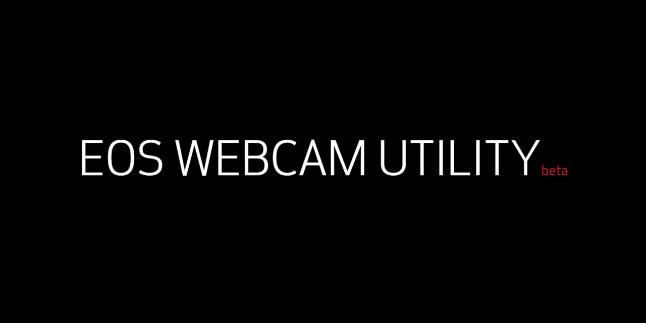 Using Canon's EOS Webcam Utility with a 5D Mark IV on a PC